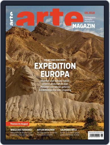 Arte Magazin (Digital) August 1st, 2018 Issue Cover