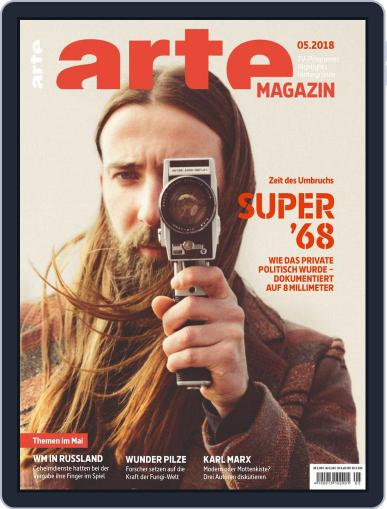 Arte Magazin (Digital) May 1st, 2018 Issue Cover