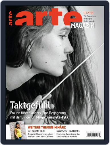 Arte Magazin (Digital) March 1st, 2018 Issue Cover