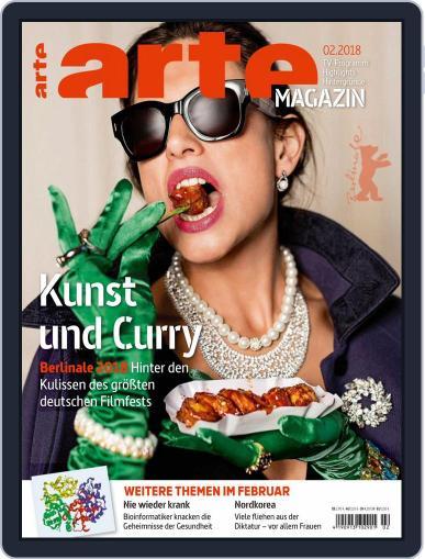 Arte Magazin February 1st, 2018 Digital Back Issue Cover