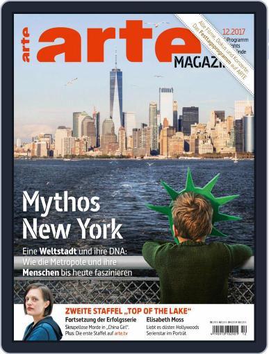 Arte Magazin (Digital) December 1st, 2017 Issue Cover