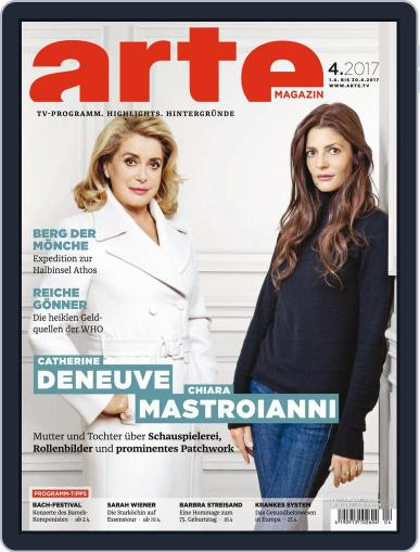 Arte Magazin (Digital) March 22nd, 2017 Issue Cover