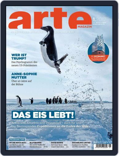 Arte Magazin (Digital) January 1st, 2017 Issue Cover