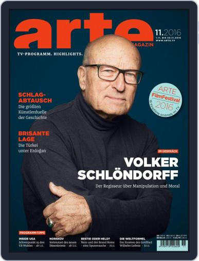 Arte Magazin (Digital) October 31st, 2016 Issue Cover