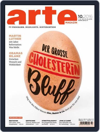 Arte Magazin (Digital) September 30th, 2016 Issue Cover