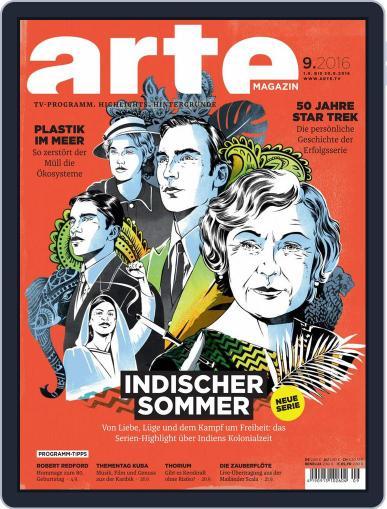 Arte Magazin (Digital) August 31st, 2016 Issue Cover