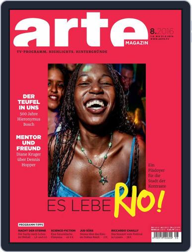 Arte Magazin (Digital) July 31st, 2016 Issue Cover