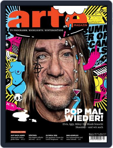 Arte Magazin (Digital) June 30th, 2016 Issue Cover
