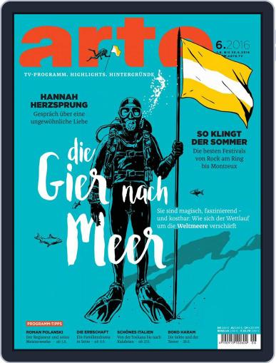 Arte Magazin (Digital) May 31st, 2016 Issue Cover