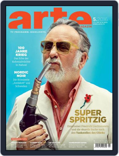 Arte Magazin (Digital) April 30th, 2016 Issue Cover