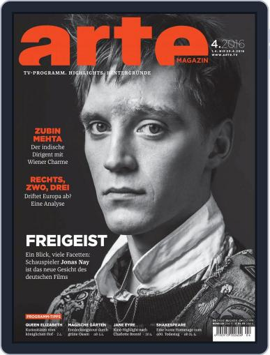 Arte Magazin (Digital) March 31st, 2016 Issue Cover