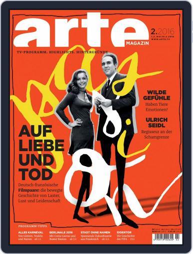 Arte Magazin (Digital) January 31st, 2016 Issue Cover