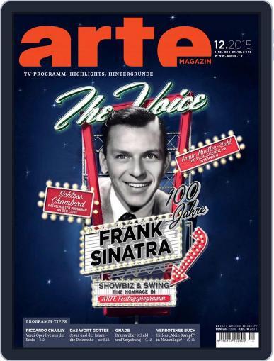 Arte Magazin (Digital) November 30th, 2015 Issue Cover