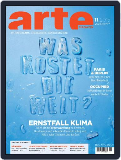 Arte Magazin (Digital) October 31st, 2015 Issue Cover