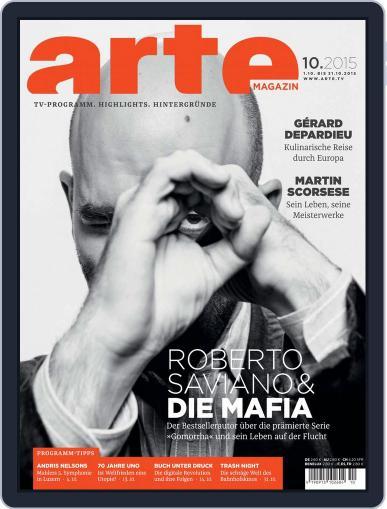 Arte Magazin (Digital) September 30th, 2015 Issue Cover