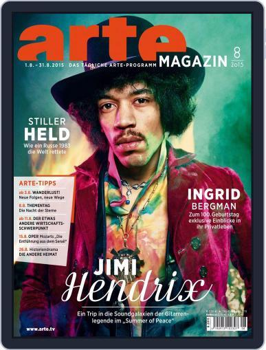 Arte Magazin (Digital) July 31st, 2015 Issue Cover