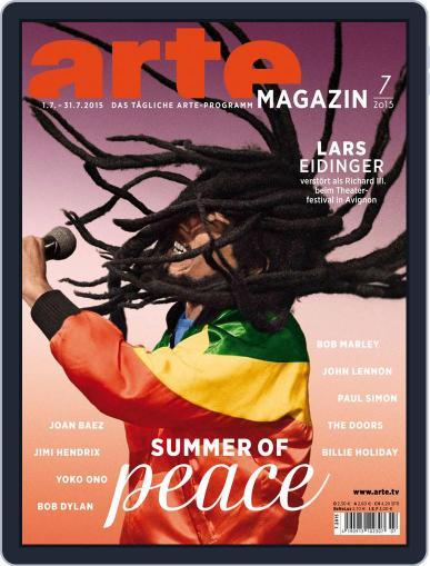 Arte Magazin June 30th, 2015 Digital Back Issue Cover