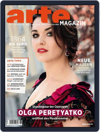Arte Magazin (Digital) May 31st, 2015 Issue Cover