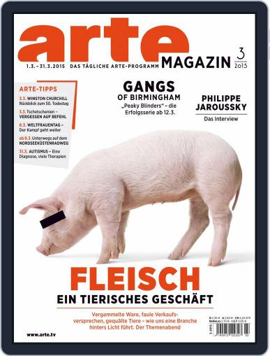 Arte Magazin (Digital) February 28th, 2015 Issue Cover