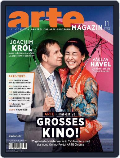 Arte Magazin October 20th, 2014 Digital Back Issue Cover