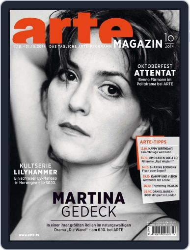 Arte Magazin (Digital) September 22nd, 2014 Issue Cover