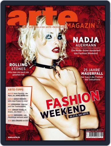 Arte Magazin (Digital) August 18th, 2014 Issue Cover