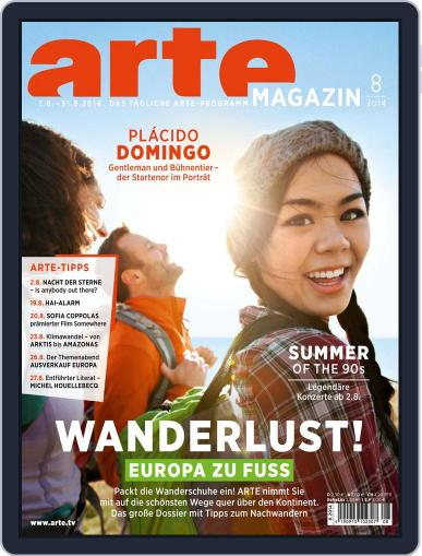 Arte Magazin (Digital) July 21st, 2014 Issue Cover