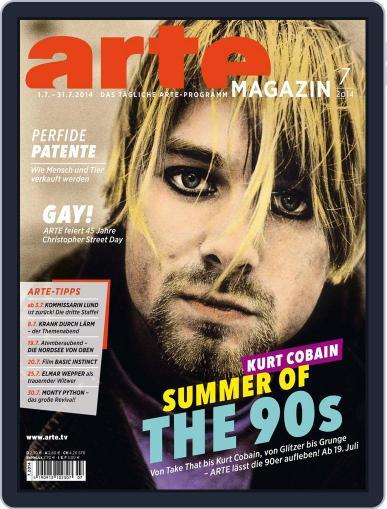 Arte Magazin June 22nd, 2014 Digital Back Issue Cover