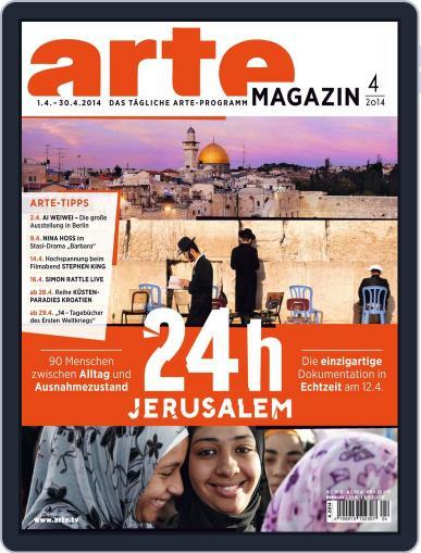 Arte Magazin (Digital) March 23rd, 2014 Issue Cover