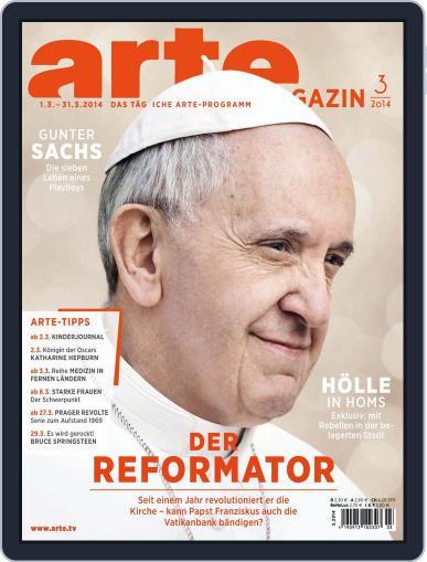 Arte Magazin February 17th, 2014 Digital Back Issue Cover
