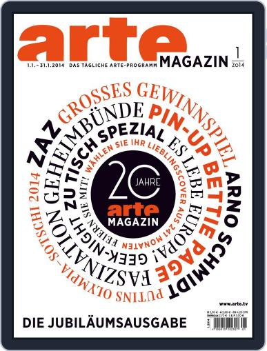 Arte Magazin (Digital) December 18th, 2013 Issue Cover