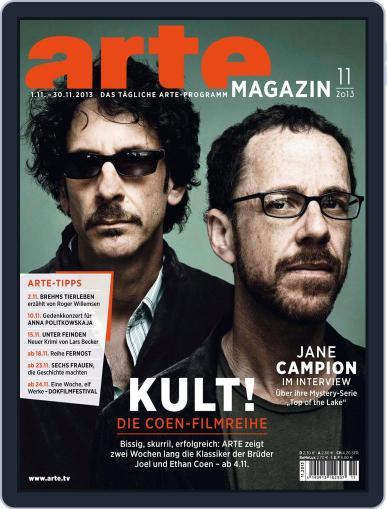 Arte Magazin (Digital) October 22nd, 2013 Issue Cover