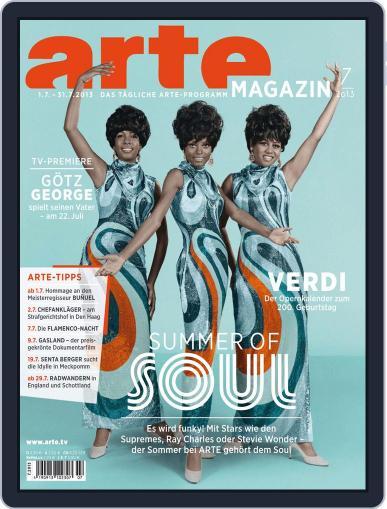 Arte Magazin (Digital) June 19th, 2013 Issue Cover