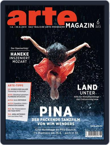 Arte Magazin (Digital) May 27th, 2013 Issue Cover