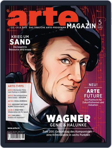 Arte Magazin April 22nd, 2013 Digital Back Issue Cover