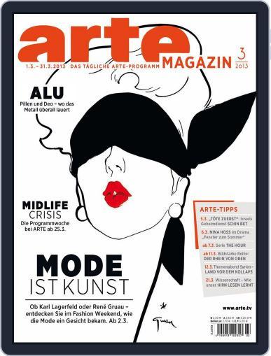 Arte Magazin February 19th, 2013 Digital Back Issue Cover