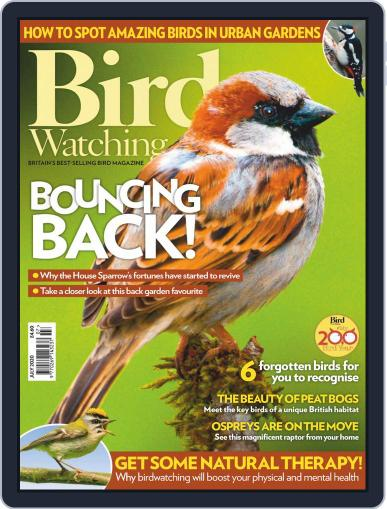 Bird Watching (Digital) July 1st, 2020 Issue Cover