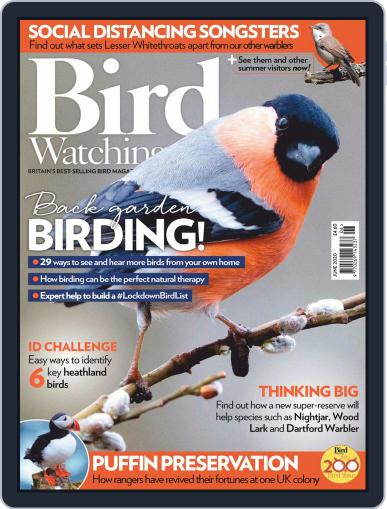 Bird Watching June 1st, 2020 Digital Back Issue Cover