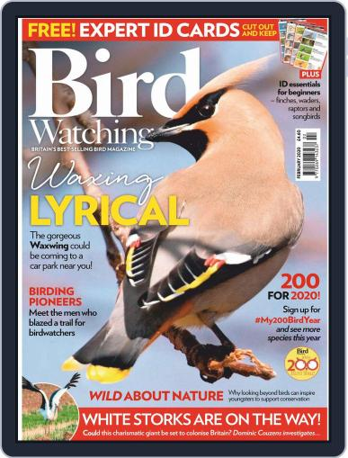 Bird Watching (Digital) February 1st, 2020 Issue Cover
