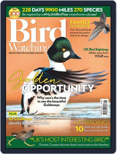 Bird Watching (Digital) January 1st, 2020 Issue Cover