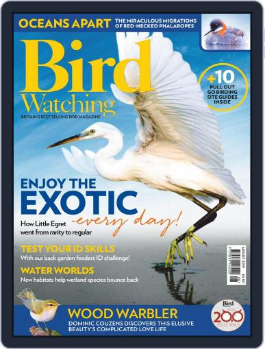 Bird Watching August 1st, 2019 Digital Back Issue Cover