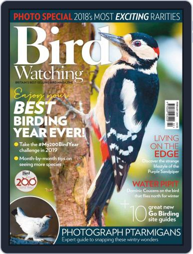 Bird Watching (Digital) February 1st, 2019 Issue Cover
