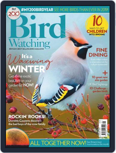 Bird Watching (Digital) January 1st, 2019 Issue Cover