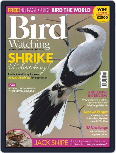 Bird Watching (Digital) November 1st, 2018 Issue Cover