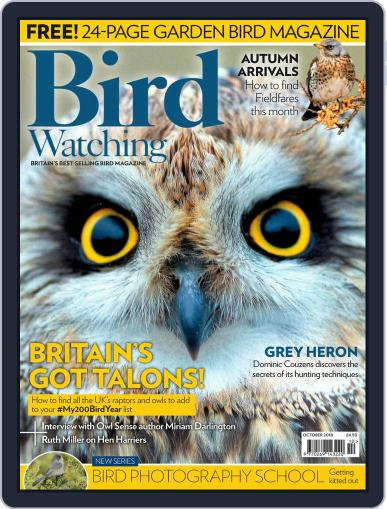 Bird Watching (Digital) October 1st, 2018 Issue Cover
