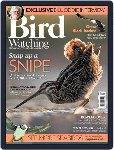 Bird Watching September 2nd, 2018 Digital Back Issue Cover
