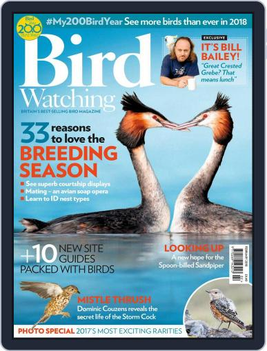 Bird Watching February 1st, 2018 Digital Back Issue Cover
