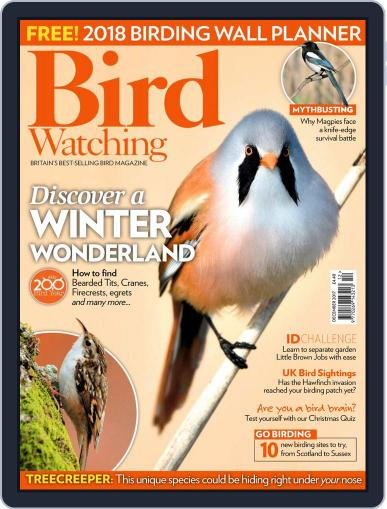 Bird Watching (Digital) December 1st, 2017 Issue Cover