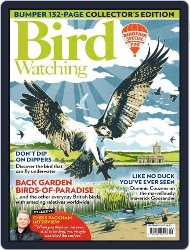 Bird Watching September 1st, 2017 Digital Back Issue Cover