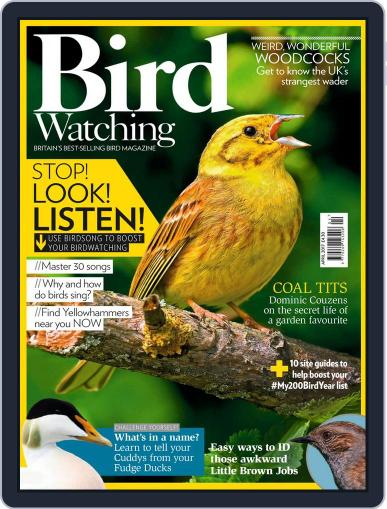 Bird Watching April 1st, 2017 Digital Back Issue Cover